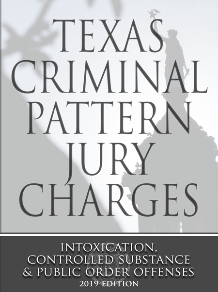 Texas Criminal Pattern Jury Charges - Texas Bar Books