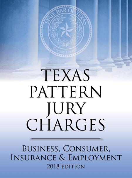 Texas Pattern Jury Charges - Texas Bar Books
