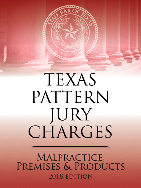 Texas Criminal Pattern Jury Charges Malpractice - Texas Bar Books