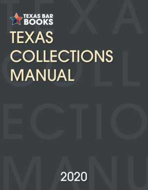 Texas Collection Manual - Texas Bar Books