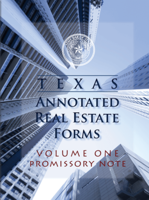 texas annotated real estate - Texas Bar Books