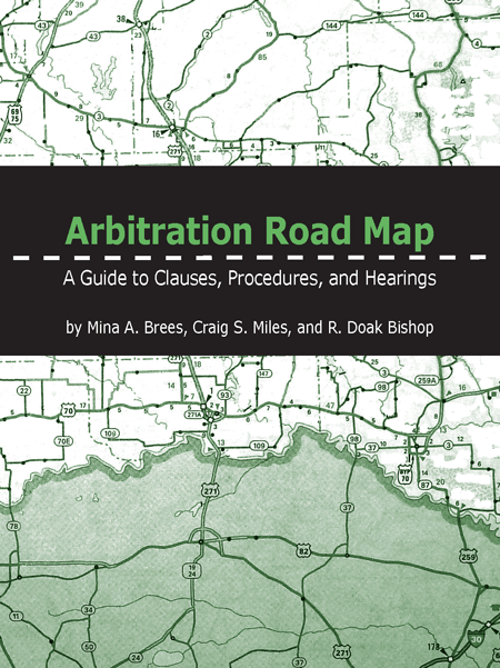 Arbitration Road Map - Texas Bar Books