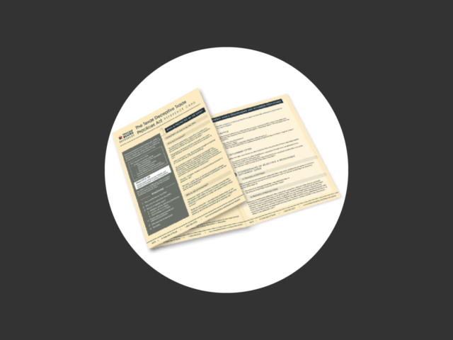 New from Texas Bar Books! The Texas Deceptive Trade Practice Act Reference Card